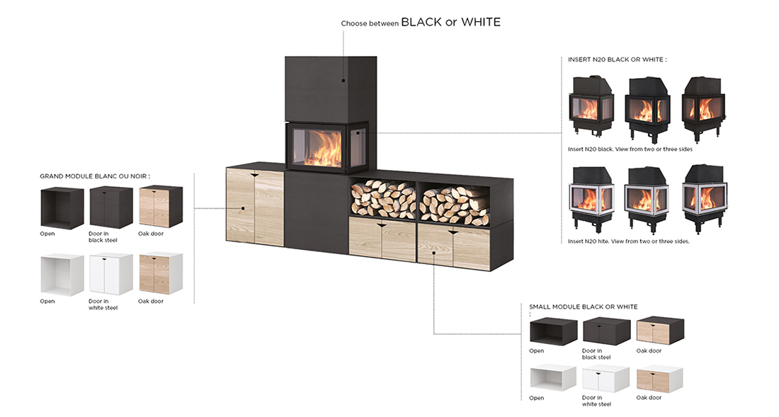 How to assemble BOX Black - Fireplace - Nordpeis - How to assemble BOX Black